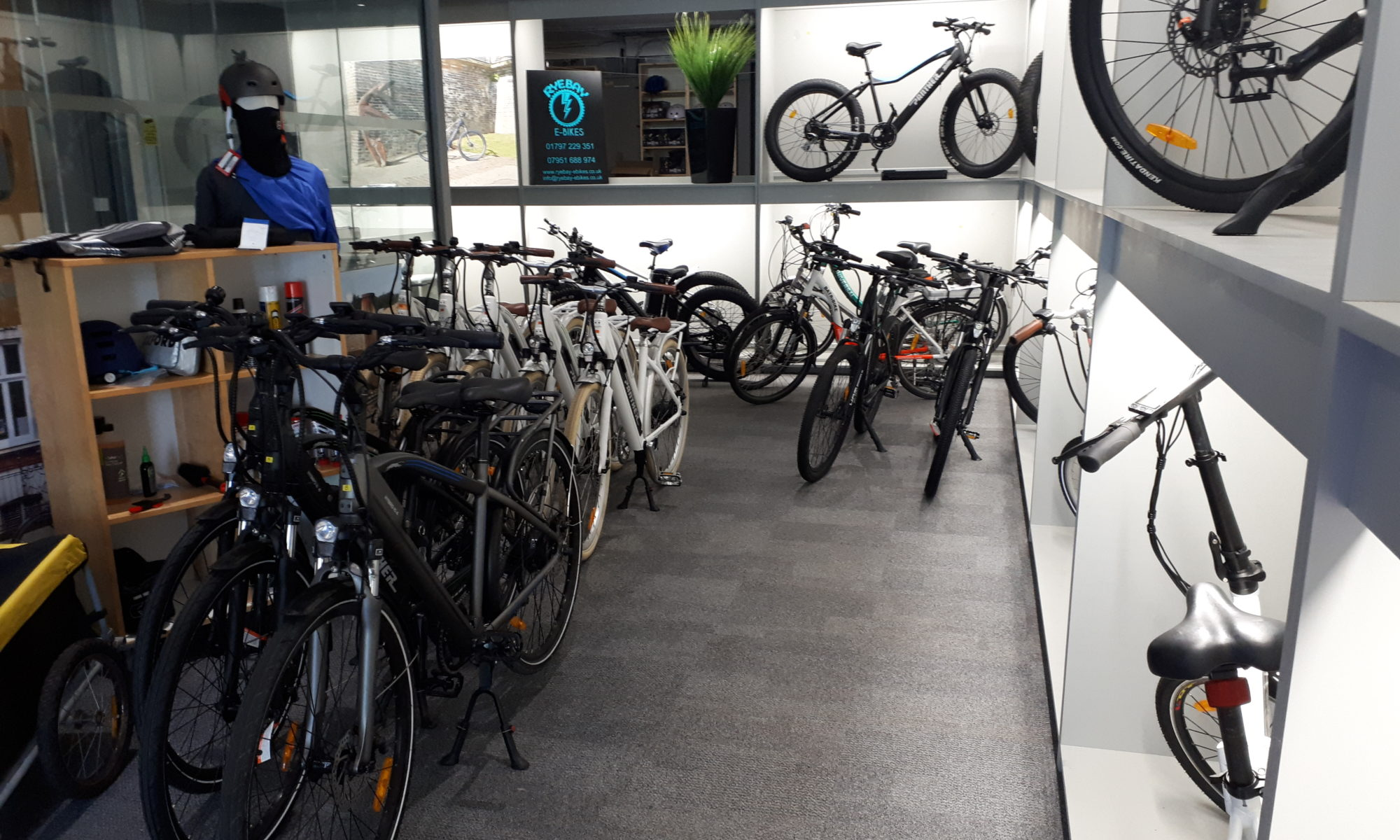 Rye Bay e-bike hire shop