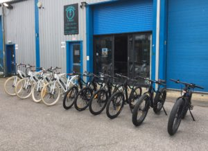 Rye Bay e-bike hire front shop