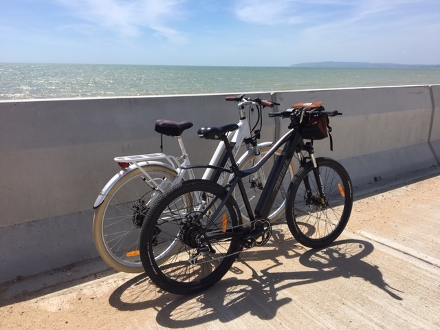 Rye Harbour e-bike hire