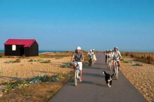 Rye Bay e-bikes Rye Harbour
